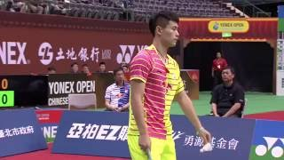 【Video】Tanongsak SAENSOMBOONSUK VS QIAO Bin, YONEX Open Chinese Taipei semifinal