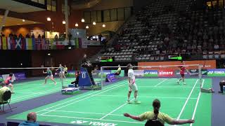 【Video】Kento MOMOTA VS Hans-Kristian Solberg VITTINGHUS, YONEX Dutch Open 2017 quarter finals